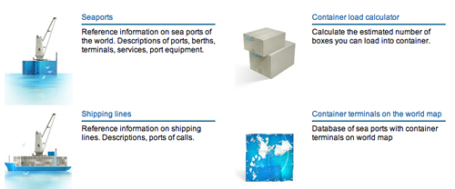 Preivew image of Shipping Container site searates.com