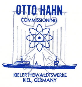 Nuclear Ship Postage Stamp - Otto Hahn