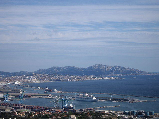 The Port of Marseille seen from L'Estaque