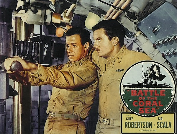 Battle of the Coral Sea Lobby Card Set
