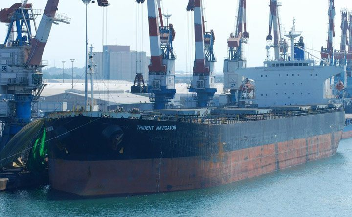 trident navigator ship bulk carrier