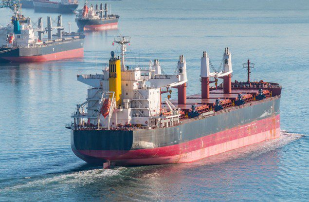 bulk carrier ship shipping
