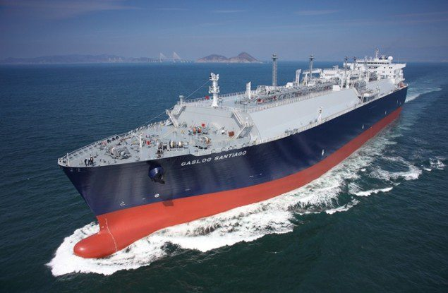 File photo of an SHI-built LNG carrier. Photo credit: Samsung Heavy Industries