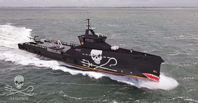 sea shepherd damen fast crew supplier