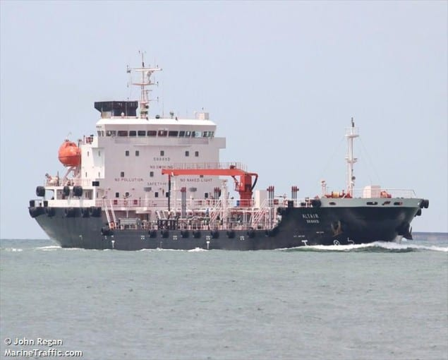 MT Ocean Energy. File photo courtesy MarineTraffic.com/