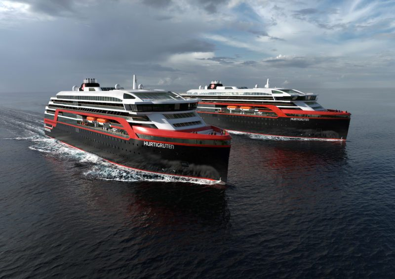 Hurtigruten expedition ships
