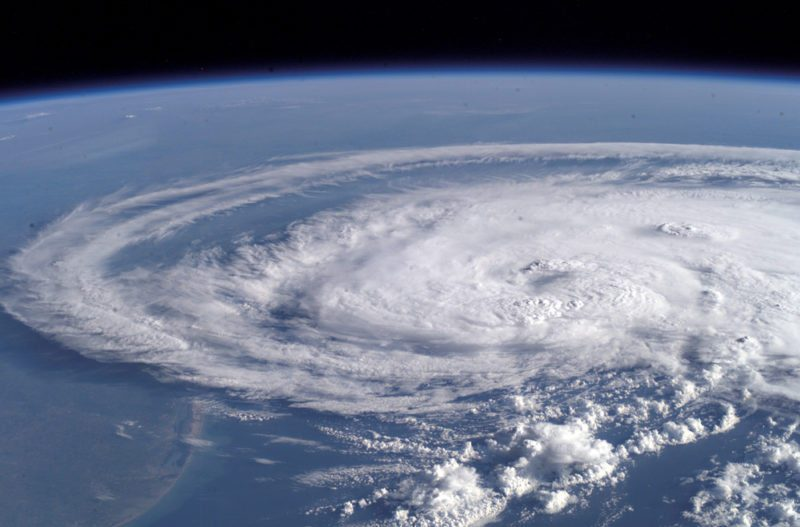 Hurricane Claudette Seen From Space