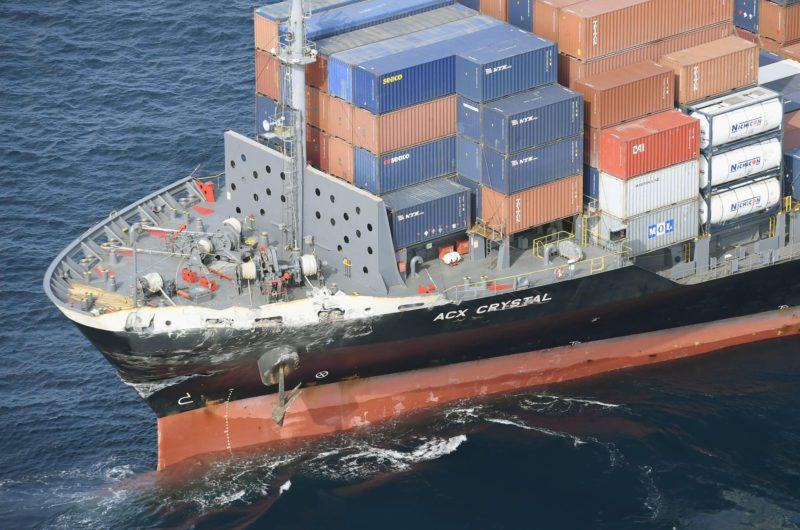 Containership ACX Crystal Damage