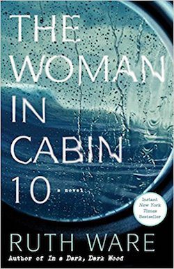 The Woman in Cabin 10 book cover by Ruth Ware