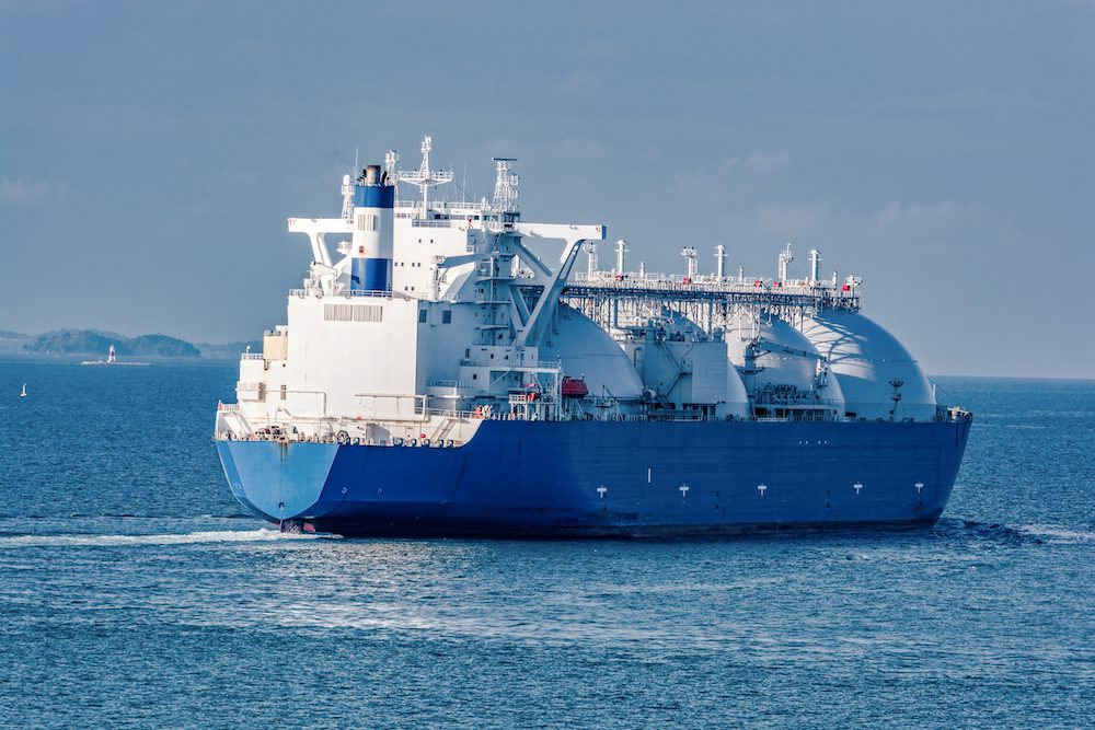 LNG shipping rates spike with no respite seen through 2019