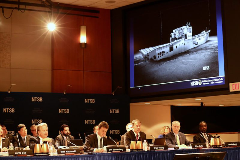 EL FARO NTSB Board Meeting
