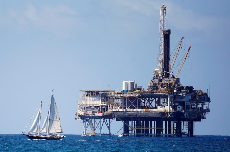 offshore oil platform california