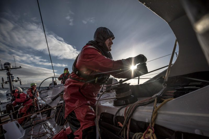 john fisher volvo ocean race