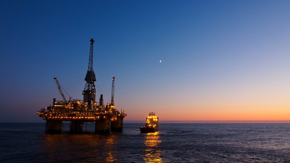 offshore oil and gas rig
