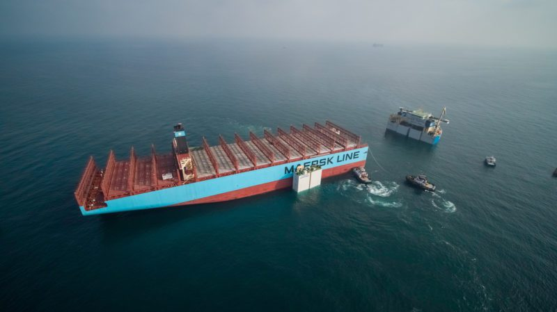 Photos  Cut Up Maersk Honam Heads