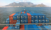 Fire Reported on CMA CGM Containership Off Table Bay, South Africa