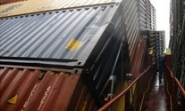CSAV Boxship Loses Containers in Typhoon [IMAGES]
