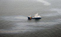 Swedish Coast Guard Cleaning Up 37-Year-Old Oil Spill