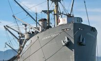 Liberty Ship SS Jeremiah O'Brien Spills Fuel Into San Francisco Bay at Fisherman's Wharf