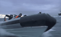 Shocking Video Shows Spanish Navy Attacking Greenpeace Protesters Off Canary Islands