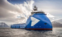 Ulstein Delivers 'Blue Queen' Platform Supply Vessel
