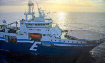 viking vision seismic survey vessel