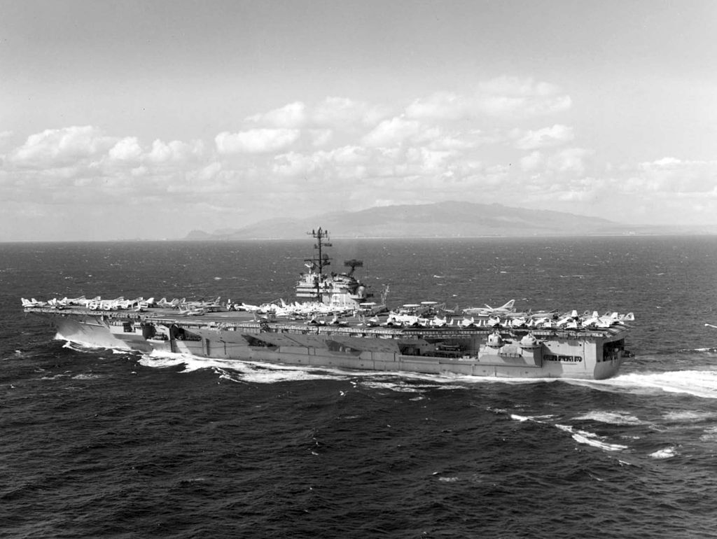 Ex-USS Ranger Has Seen Better Days - Drone Video – gCaptain