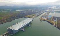 Ship Photos of the Day – World's Largest Pure Car and Truck Carrier, Höegh Target, Transits Expanded Panama Canal