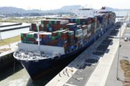 CMA CGM Theodore Roosevelt Breaks Panama Canal Capacity Record on Way to U.S. East Coast – 14,855 TEU!