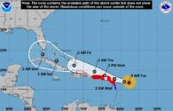 'Potentially Catastrophic' Irma Barrels Toward Virgin Islands, Puerto Rico