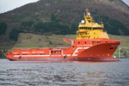 Norwegian Offshore Supply Vessel First to Replace LNG Engine with Battery Power