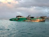 Foss Hired to Remove Grounded Fishing Vessel Off Waikiki