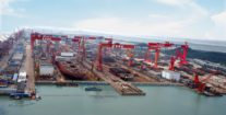 China's Two Biggest Shipbuilders Plan Merger