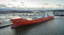 First LNG Carrier to Hold Ice Class 1A Super Notation Named in Finland