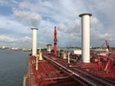 Maersk Tankers Tests Sails Aboard Ship