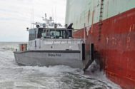 Metal Shark Delivers New Pilot Boat to Brazos Pilots Association