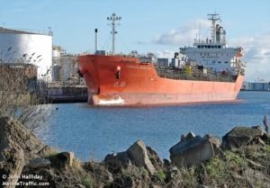 chemical marketer tanker collision