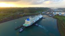 LNG Carrier Marks 6,000th Transit Through Expanded Panama Canal