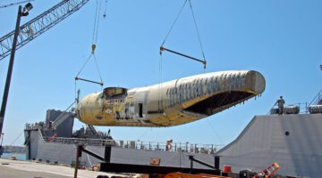 Carr: Boeing C-17 Aircraft Goes to Sea