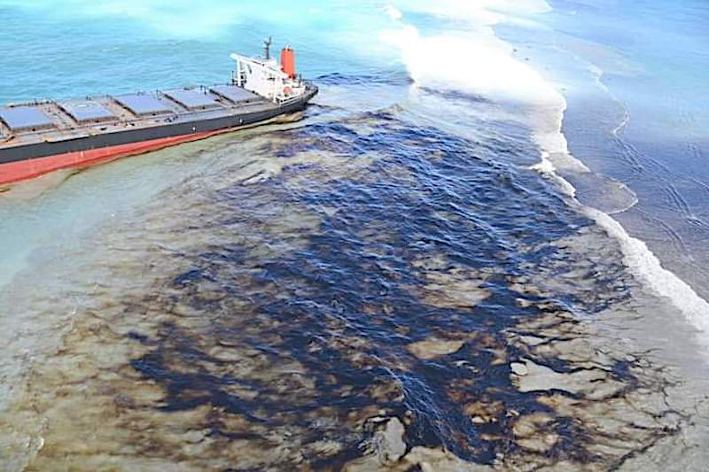 Mauritian govt to claim compensation from Japanese company for oil spill